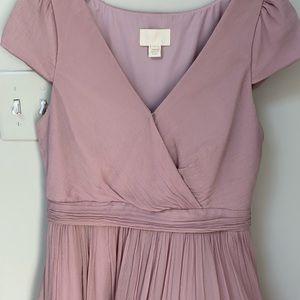JCrew Mirabelle Cocktail Dress in light pink